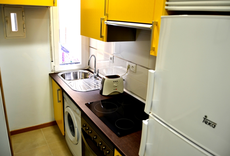 one bedroom apartment - student accommodation madrid