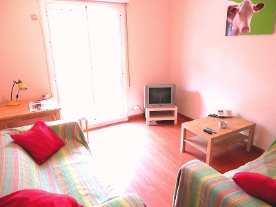 Shared Flat in Madrid - living room